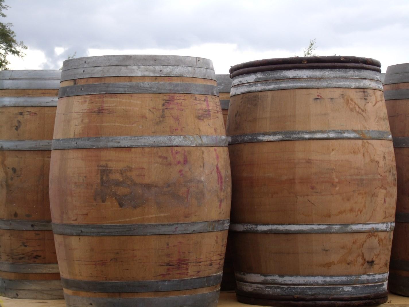 käytetyt viinitynnyrit