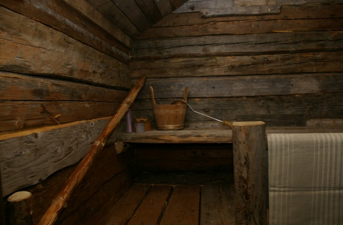 Sauna and hottub